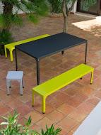 Table banc tabouret